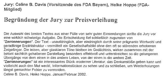 Begründung der Jury